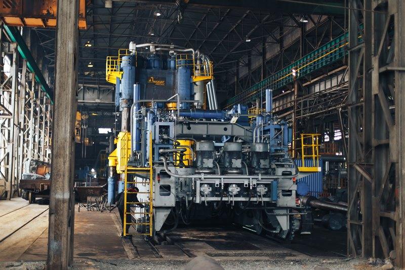 інноваційний кувальний комплекс на заводі дніпропрес сталь