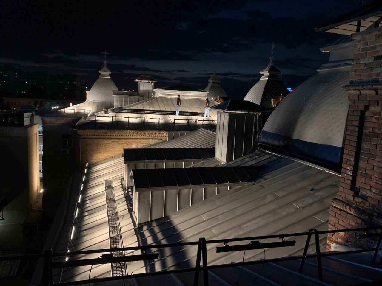 крыша днепропетровского колледжа культуры и искусств