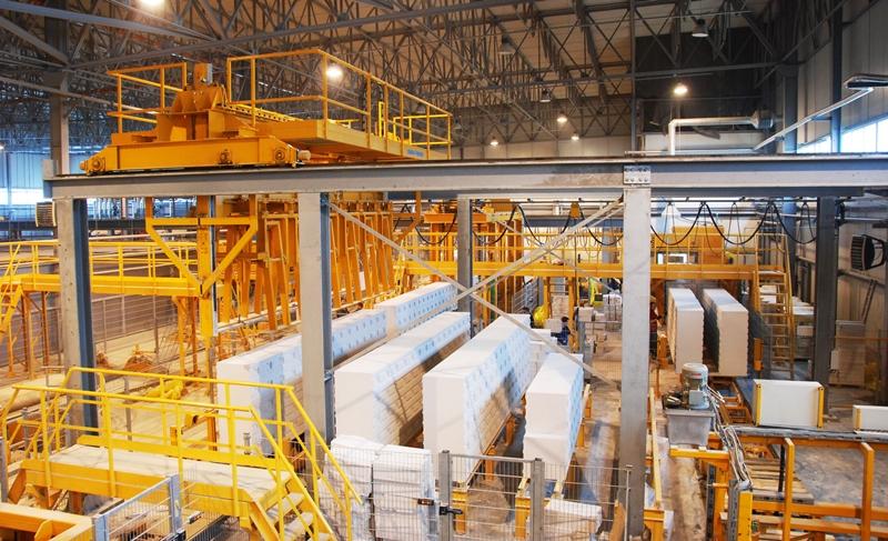 производство газобетона на заводе ЮДК